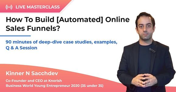 masterclass: automated sales funnel
