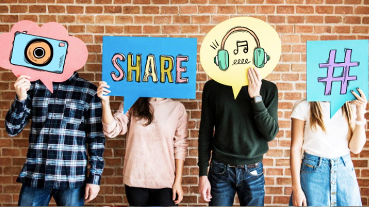 Social Content Sharing Image 3